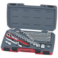 "Teng Tools 3/8"" Socket & Spanner Set 39 Pieces"