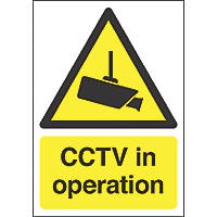"""CCTV in Operation"" Sign 420 x 297mm"