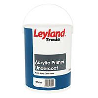 Leyland Trade Acrylic Primer Undercoat 5Ltr
