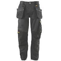 "DeWalt Richmond DWC116-004 Holster Work Trousers Charcoal Grey 40"" W 31"" L"