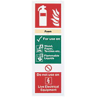 Foam Extinguisher Sign 300 x 100mm