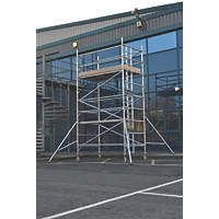 Lyte Helix Double Depth Aluminium Industrial Tower 3.7m