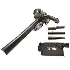 TITAN TTL684BVC Petrol Vacuum Leaf Collection 27.6cc Engine 2-Stroke VACUUM ONLY