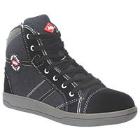 Lee Cooper LCSHOE101   Safety Trainer Boots Black/Grey Size 8