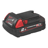 Milwaukee M18 B2 18V 2.0Ah Li-Ion RedLithium Battery