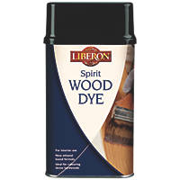Liberon Ethanol Based Wood Dye Dark Oak 250ml