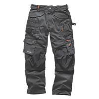 "Scruffs 3D Pro Trousers Graphite 40"" W 32"" L"