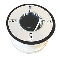 Time Round Flexible Cable 2182Y 2-Core 0.75mm² x 50m White