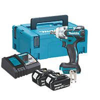 Makita DTW300RTJ 18V 5.0Ah Li-Ion LXT Brushless Cordless Impact Wrench