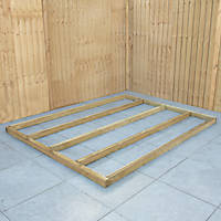 Forest Shed Base Self-Assembly 6' x 8'