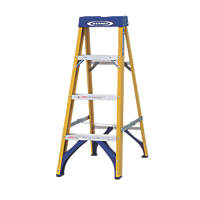 Werner 71694 Swingback Ladder Fibreglass 4-Tread 1.12m