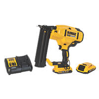 DeWalt DCN680D2-GB 54mm 18V 2.0Ah Li-Ion XR Brushless Second Fix Cordless Nail Gun