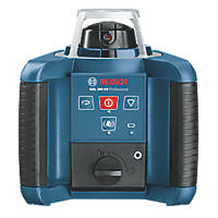 Bosch GRL300HV Red Self-Levelling Rotary Laser Level With Receiver