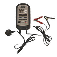 Maypole MP7428 8A Auto Electronic Battery Charger  12V