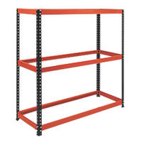 RB Boss Powder-Coated Freestanding Tyre Rack 3-Tier 900 x 450 x 1180mm
