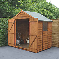 Forest  7' x 5' (Nominal) Apex Overlap Timber Shed