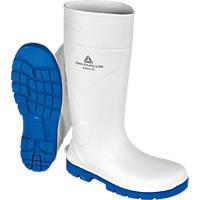 Delta Plus KEMISS4BC44   Safety Wellies White Size 10