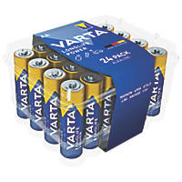 Varta High Energy Alkaline AA Batteries 24 Pack