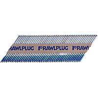 Rawlplug Galvanised Collated Nails 3.1 x 90mm 2200 Pack