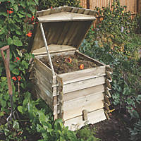 Rowlinson Beehive-Style Composter 740 x 740 x 840mm