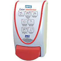 Cutan White 7 Circles Hand Sanitiser Dispenser 1Ltr