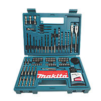 Makita Hex Shank Drill & Screwdriver Bit Accessory Set 100 Pieces