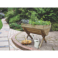 Forest Rectangular Trough Planter  760 x 1000 x 807mm