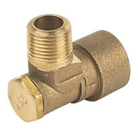 Cookerflex Angled Bayonet Socket Gas Fitting ½""
