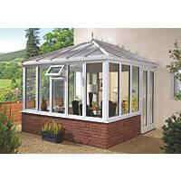 E9 Edwardian uPVC Double-Glazed Conservatory  3.88 x 4.56 x 3.26m