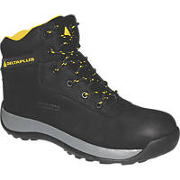 Delta Plus Saga Metal Free  Safety Boots Black Size 8