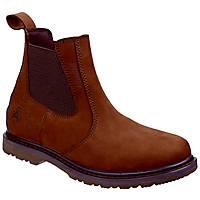 Amblers Aldingham   Non Safety Dealer Boots Brown Size 7