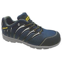 Stanley Globe Safety Trainers Navy Blue Size 7