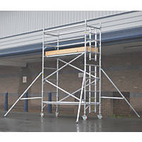 Lyte Helix Single Depth Aluminium Industrial Tower 2.7m