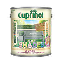 Cuprinol Garden Shades Wood Paint Matt Wild Thyme 2.5Ltr