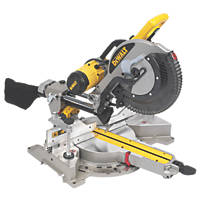 DeWalt DWS780-LX 305mm  Electric Double-Bevel Sliding Compound Mitre Saw 110V