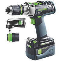 Festool 574706 18V 5.2Ah Li-Ion Airstream Brushless Cordless Combi Drill