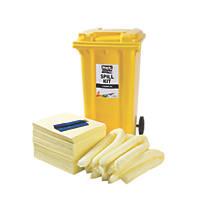 Lubetech Black & White 240Ltr Chemical Spill Response Kit