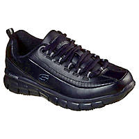 Skechers Sure Track - Trickel EC Metal Free Ladies Non Safety Shoes Black Size 8