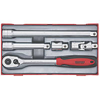 "Teng Tools TT1205 1/2"" Drive Ratchet & Accessory Set 5 Pcs"