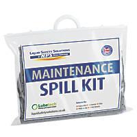 Lubetech Black & White 20Ltr Maintenance Spill Response Kit