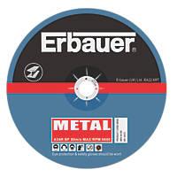 """Erbauer Cutting Discs 9"""" (230mm) x 2 x 22.23mm 5 Pack"""