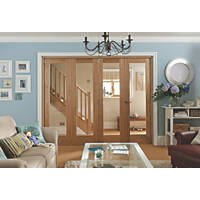 Jeld-Wen Shaker 1-Panel Interior Room Divider Unfinished 2052 x 2550mm