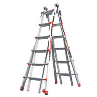Little Giant Revolution 4-Section Aluminium Multipurpose Ladder  6.5m