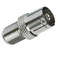Labgear F To Coax Adaptors Pack of 10
