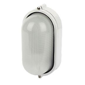 Napoli Oval Bulkhead White 240V | Bulkhead Lights ...