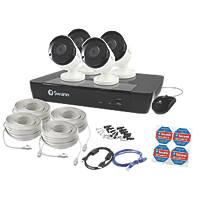 Swann SWNVK-874504-UK 8-Channel 5MP CCTV NVR Kit with 4 Cameras