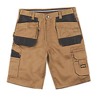 "Site Jackal Multi-Pocket Shorts Stone / Black 34"" W"