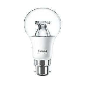 philips bc gls led light bulb 470lm 6w light bulbs. Black Bedroom Furniture Sets. Home Design Ideas