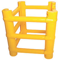 Addgards UNCP Universal Column Protector Yellow 700 x 700mm