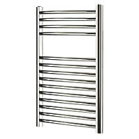 Blyss  Curved Towel Radiator 700 x 400mm Chrome 563BTU